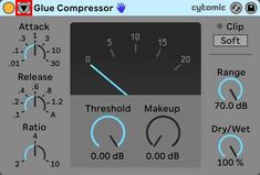 An image of Glue Compressor's Sidechain Toggle button highlighted in red. Toggle Button, Ableton Live, Big Challenge, Level Up, How To Apply Makeup, Music Industry, Trust Yourself, Being Used, Learning