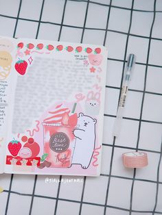 Kawaii journaling, journal ideas, journal inspiration Journal Inspiration, Stationery, Bullet Journal, Kawaii, Watch, Videos, Youtube, Clock, Paper Mill