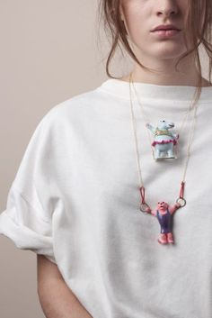 Les Athlétiques collection. Quirky fun fashion by N2!