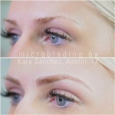 eyebrow microblading blonde hair. before \u0026 after | kara sanchez beauty make up eyebrows microblading eyebrow blonde hair c