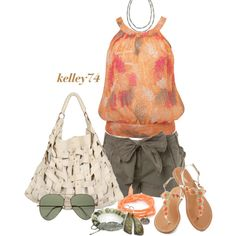 Summer Shopping Trip by kelley74 on Polyvore featuring polyvore, fashion, style, Miss Selfridge, SALAR, MANGO, Nan Fusco, 1928 and Ray-Ban