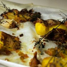 A nice side dish with a good piece of meat can do so much good. These crushed potatoes are sooo nice and crispy. Slightly different than fried potatoes and fun to alternate with. Recipe on CuliNice.com