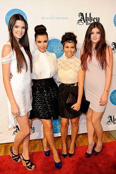 Updo hairstyle....the kardashians