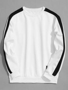 Two Tone Fleeced Mens Sweatshirt Sweat Shirt, Polo Shirt Outfits, Mens Fashion Online, Custom Clothes, Clothes Uk, Mens Sweatshirts, Shirt Style, Fashion Outfits, Savage Shirt
