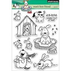 PB30120 Penny Black Clear Stamps Man's Best Friend
