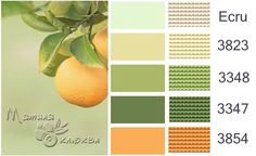 mid-century retro colors for a family room Yarn Color Combinations, Colour Schemes, Cross Stitch Floss, Types Of Embroidery, Colour Pallette, Dmc Floss, Paint Colors For Home, Colour Board, Color Swatches