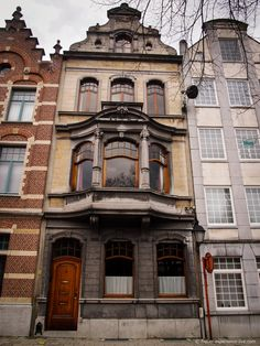 Architecture in Lier, Belgium