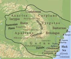 In ancient geography, especially in Roman sources, Dacia (/ˈdeɪʃiə, -ʃə/) was the land inhabited by the Dacians. The Greeks referred to them as the Getae, which were specifically a branch of the Thracians north of the Haemus Mons (the Balkan Mountains). European Tribes, European Languages, History Page, History Facts, Liberia Africa, Romania Map, Visual Map, Classical Greece, Roman History