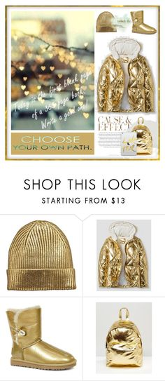 """Perfect Puffer Jackets"" by yours-styling-best-friend ❤ liked on Polyvore featuring Envi:, UGG, ASOS and Casetify"