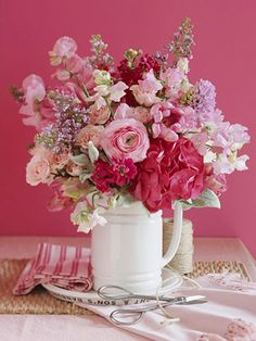 pink arrangement by better homes and gardens