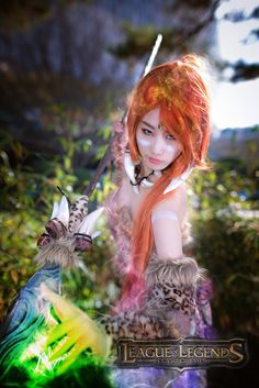 Nidalee Cosplay from League of Legends