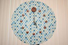 Upcycled Record Clock - Dorian