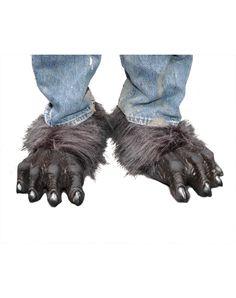 Gray Killer Wolf Adult Feet – Spirit Halloween