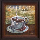 "Found it at Wayfair - Artistic Reflections Java Roast Framed Graphic Art] $43.88  16""x16"""