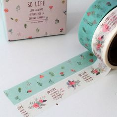 2 cute rolls of patterned washi tape, measuring approximately 15mm in width and each roll is approximately 5 metres in length. Lots more cute washi tapes in my shop here - https://www.etsy.com/uk/shop/TheSupplyHaven?ref=hdr_shop_menuion_id=18758032 Tap
