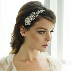 Aye Do Ltd - Cecilia Wedding Headband HDB3 (awj), £58.99 (http://www.ayedoweddings.co.uk/cecilia-wedding-headband-hdb3-awj/)
