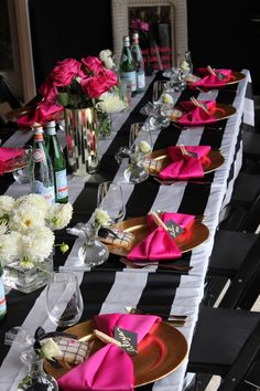 Decoration and table setting {event planner // So Eventful Productions}