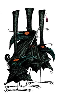 Design your everyday with horror art prints you'll love. Cover your walls with artwork and trending designs from independent artists worldwide. Crow Art, Raven Art, Bird Art, Illustrations, Illustration Art, Corvo Tattoo, Quoth The Raven, Jackdaw, Crows Ravens
