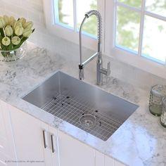Kubus Single Bowl Undermount Kitchen Sink  Sinks Bowls And Kitchens Captivating Undermount Kitchen Sink Review