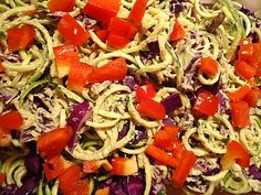 Raw Vegan Pad Thai from Ani Phyo's Raw Food Essentials