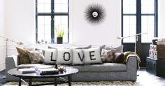 Cojines personalizados Love
