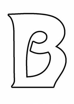 буква В, фигурный алфавит, раскраски для девочек