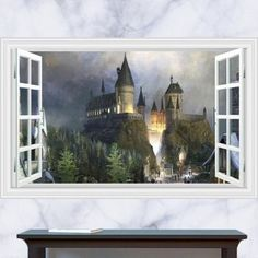 Harry Potter Castle Wall Decal – the treasure thrift