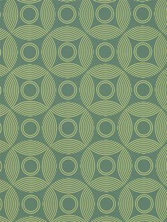 This green geometric wallpaper by Amy Butler would be the perfect contemporary touch for a home office. Get it now from AmericanBlinds.com
