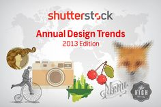 Infographic: Shutterstock's Global Design Trends 2013