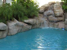 Swimming Pool Waterfalls | Yorba Linda Swimming Pools and Waterfalls