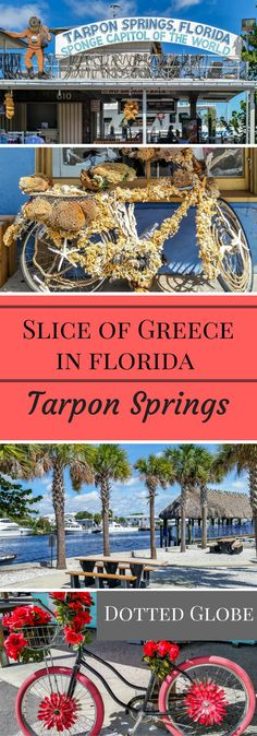 A comprehensive tourist guide to Tarpon Springs, located off Florida's Gulf Coast. It is a charming coastal town known for its Greek culture, Sponge Dock and Greek cuisine. Hellas is one of most popular restaurant in Tarpon Springs serving Greek cuisine. Visit Florida, Florida Usa, Florida Vacation, Florida Travel, Florida Beaches, Palm Harbor Florida, Florida Trips, Florida 2017, Florida Resorts