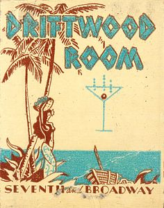 Driftwood Room, Hotel Lankershim by jericl cat, via Flickr