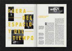 Editorial Design Inspiration: David Lynch
