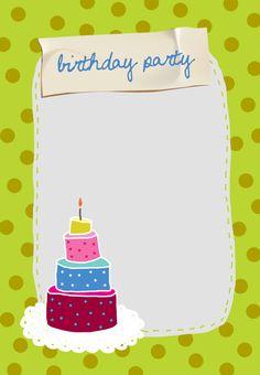 #Birthday Party #Invitation - Free Printable