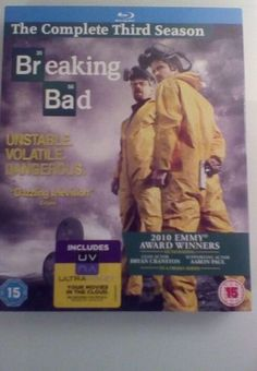 Breaking bad - series 3 - #complete #(blu-ray, 2013, #3-disc set),  View more on the LINK: 	http://www.zeppy.io/product/gb/2/141897999678/