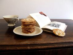 Thin Crispy Cardamon Tea Cookies | Baking with Marianne My Recipes, Bread Recipes, Cookie Recipes, Swedish Cookies, Pearl Sugar, Crispy Cookies, Braided Bread, Tea Cookies, Cookies Ingredients