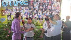 Entrevista para varios canales nacionales de Venezuela, especialmente gracias a Televen por esta entrevista en la replica del santuario de la virgen de Fatima que se construye en Venezuela @Danielpereiratm