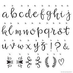 Letterset lightbox - Script