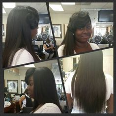Full head weave by yours truly ~MRS CRITTENDON~HAIR DIVA