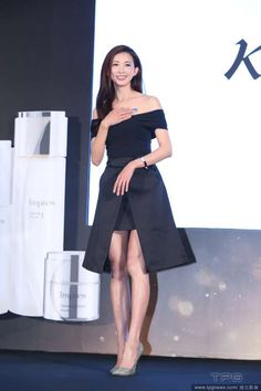 Lin Chi-ling: If I knew my type I wouldn't be single Lin Chi Ling, Type I, Strapless Dress, China, Actresses, Entertaining, News, Black, Korean