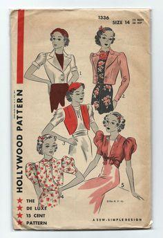 Hollywood Pattern 1336 (1937)