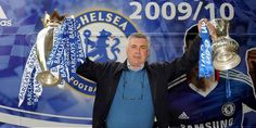 Carlo Ancelotti, one of my most favourite football manager. Probably most loved Abramovich era manager perhaps after Mourinho. Won the 'Historic Double' in his first season in-charge. Unfortunate and sad that he was sacked at the end of the next season.