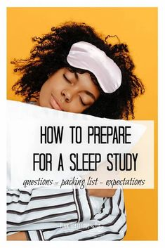 Your doctor ordered a sleep study. But what all is involved? What are the logistics you will need to know about? I'll cover how to prepare for a sleep study, what questions to ask ahead of time, what to expect in a sleep study, and what you should bring along and pack for the night. Spoiler alert - it's not as bad as you think! Chronic Fatigue, Chronic Illness, Health Tips, Health And Wellness, Mental Health, What If Questions, This Or That Questions, Abundant Health, Sleep Studies