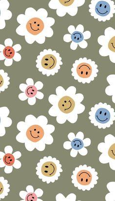 Iphone Wallpaper Vsco, Flowery Wallpaper, Hippie Wallpaper, Cute Pastel Wallpaper, Flower Phone Wallpaper, Cute Patterns Wallpaper, Iphone Background Wallpaper, Aesthetic Pastel Wallpaper, Cute Simple Wallpapers