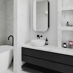 Stacker Doors, Vanity Design, Australian Architecture, Architect House, Modern Exterior, Bathroom Interior Design, Bathroom Flooring, Skylight, Building Design