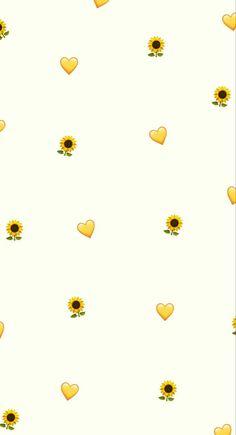 Trendy ideas for lock screen wallpaper vintage yellow Emoji Wallpaper Iphone, Cute Emoji Wallpaper, Cute Patterns Wallpaper, Iphone Background Wallpaper, Cute Disney Wallpaper, Trendy Wallpaper, Aesthetic Pastel Wallpaper, Screen Wallpaper, Heart Wallpaper