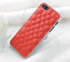 Luxury Quilted Leather iPhone 5/5S Case