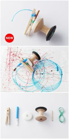 A Wind up Toy that can draw pictures