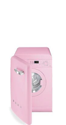 Pink Washing Machine