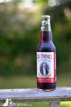 """Dr. Physick Soda from the Hill-Keith-Physick House built in 1786 in Philadelphia, #Pennsylvania by wealthy Madeira wine importer Henry Hill. It was the home of Philip Syng Physick (1768-1837), who has been called """"the father of American surgery,"""" from 1815 until his death in 1837. In the late 1960s, the house was restored and donated to the Philadelphia Society for the Preservation of Landmarks. Today it serves as a house museum. Discover more history @ www.thehistorygirl.com"""